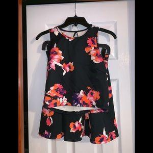 Decree 2 Piece Shirt & Skirt